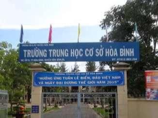 Trường THCS Hòa Bình - Bạc Liêu