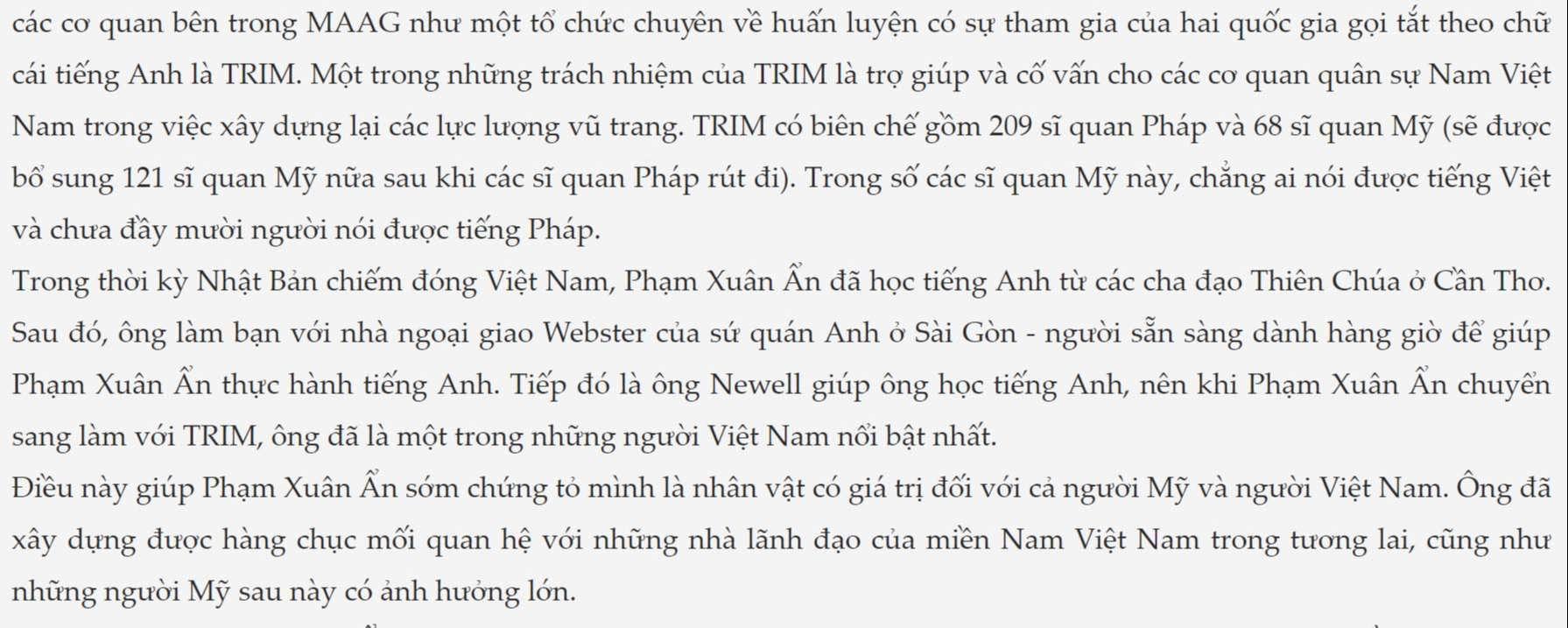 Ông Phạm Xuân Ẩn từng học tiếng Anh theo hình thức gia sư