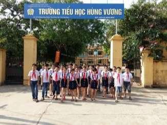 Trường tiểu học Hùng Vương - Vĩnh Phúc