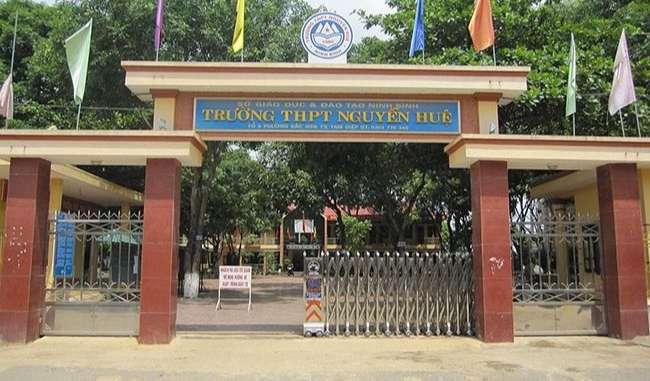 Trường Nguyễn Huệ - Ninh Bình