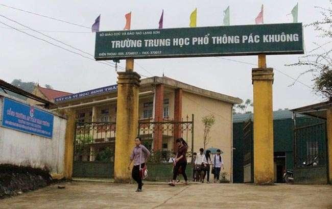 Trường Pắc Khuông - Lạng Sơn