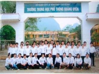 Trường Quảng Yên - Cao Bằng