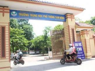 Trường Tam Nông - Phú Thọ