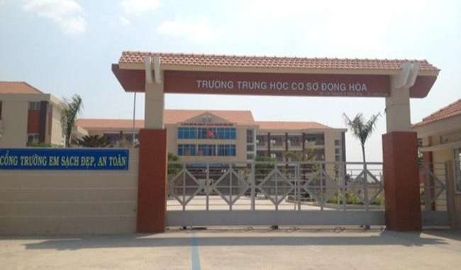 Trường THCS Đông Hòa
