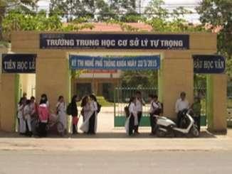 Trường THCS Lý Tự Trọng TP Trà Vinh