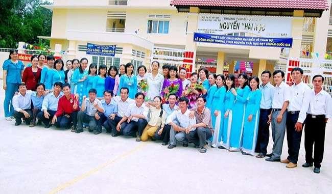 Trường THCS Nguyễn Thái Học TP Tây Ninh