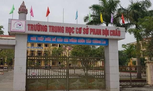 Trương THCS Phan Bội Châu - Tứ Kỳ - Hải Dương