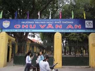 Trường trung học phổ thông Chu Văn An - Hà Nội
