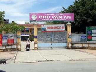 Trường tiểu học Chu Văn An - Đồng Tháp