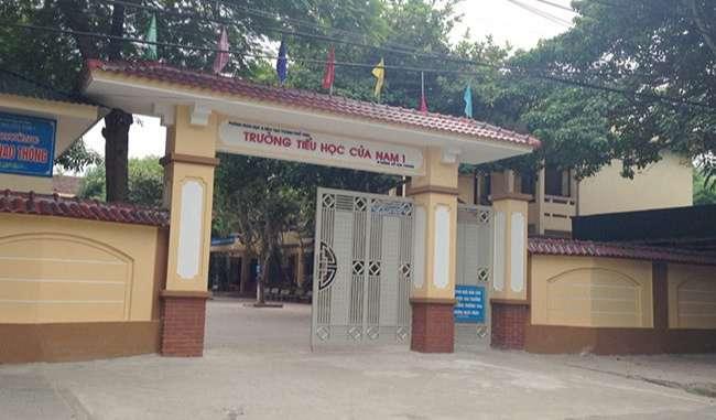 Trường tiểu học Cửa Nam 1 TP Vinh Nghệ An