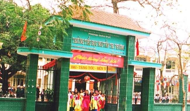 Trường tiểu học Nguyễn Tri Phương - Hồng Bàng - Hải Phòng