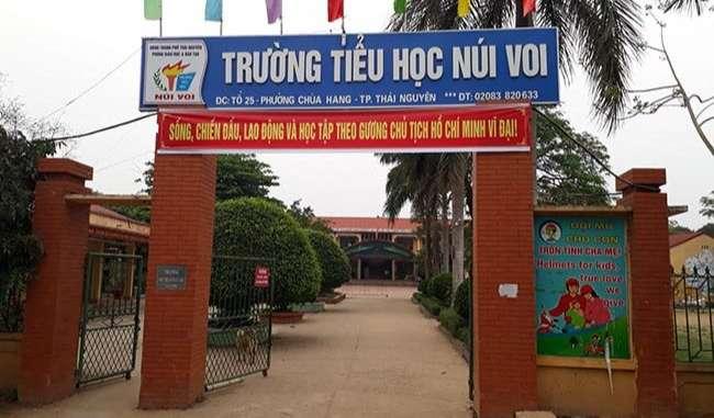 Trường tiểu học Núi Voi TP Thái Nguyên