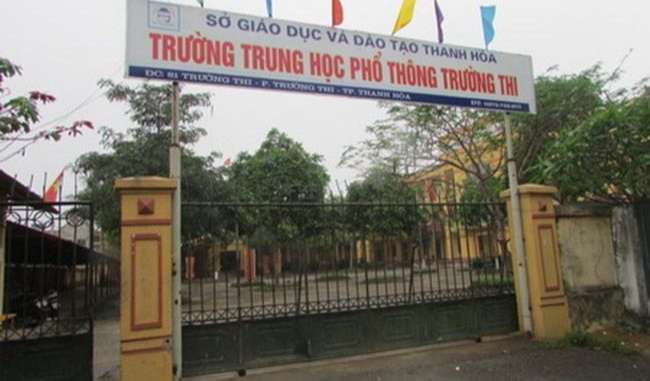 Trường Trường Thi - Thanh Hóa