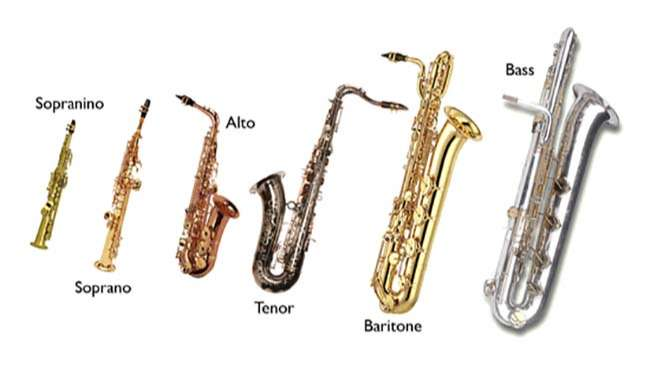 Các loại kèn Saxophone