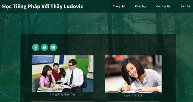 Học tiếng Pháp với thầy Ludovic
