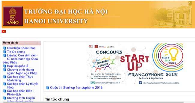Khoa Pháp - trường Đại học Hà Nội