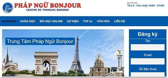 Pháp Ngữ Bonjour