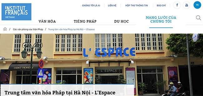 Trung tâm văn hóa Pháp L'espace