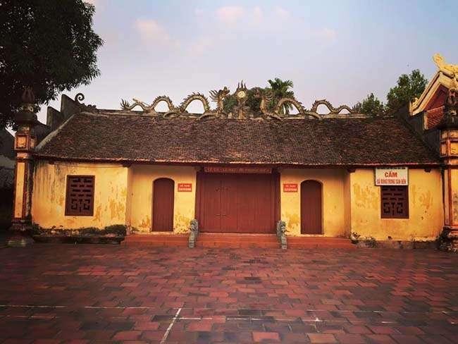 Đền thờ đô thống Lê Phụng Hiểu còn giữ nguyên vẻ cổ kính qua hàng trăm năm