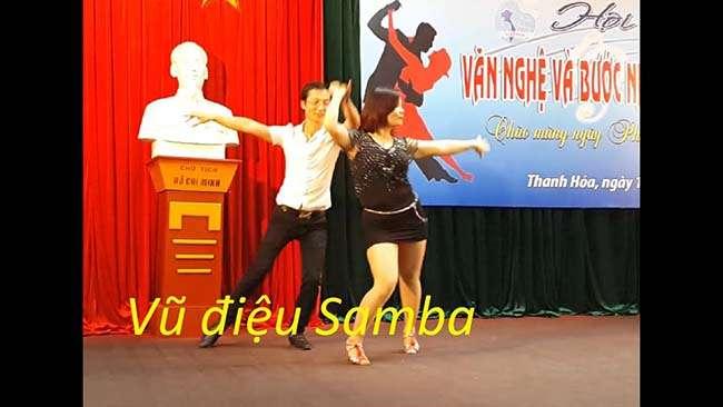 Dạy khiêu vũ điệu samba