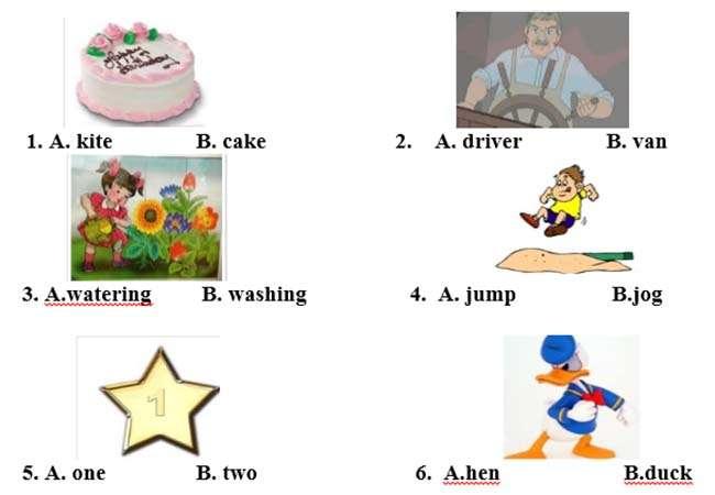 IV, Khoanh tròn vào đáp án đúng nhất