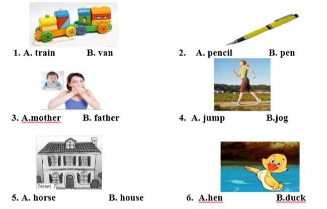 Khoanh tròn đáp án đúng nhất