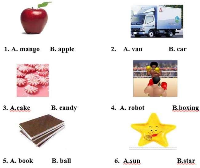 Khoanh tròn vào đáp án đúng nhất