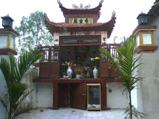 Một phần trong chùa Đại Bi, Bắc Ninh