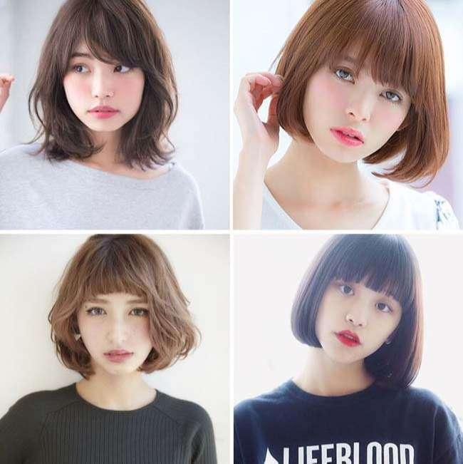 Từ vựng kiểu tóc bằng tiếng Nhật