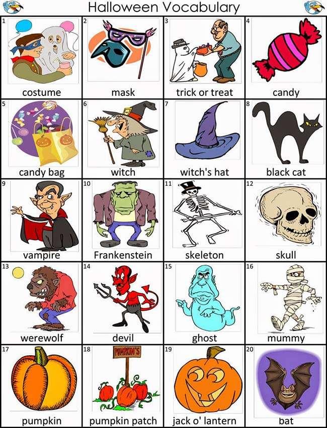 Từ vựng tiếng anh về ngày Halloween