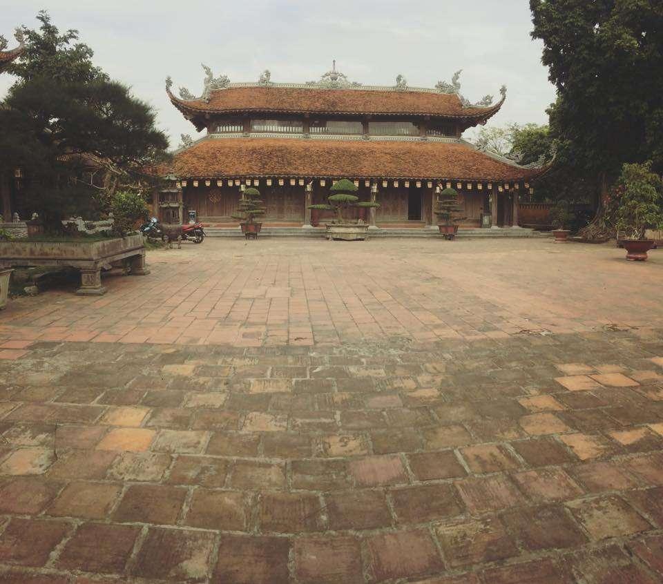 Vẻ hoài cổ của ngôi chùa Dâu