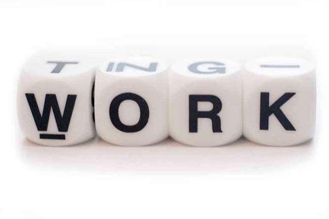 Work nói về công việc chung chung