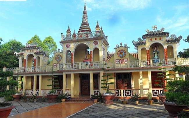 Địa điểm du lịch Vĩnh Long – Ngôi chùa có kiến trúc độc đáo tại Vĩnh Long