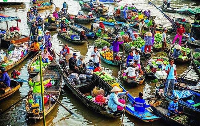 Địa điểm du lịch chợ Nổi Tiền Giang – Nét văn hóa đặc sắc