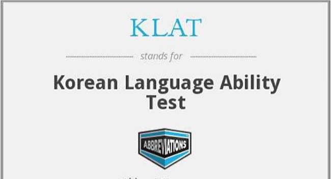 Chứng chỉ tiếng Hàn KLAT