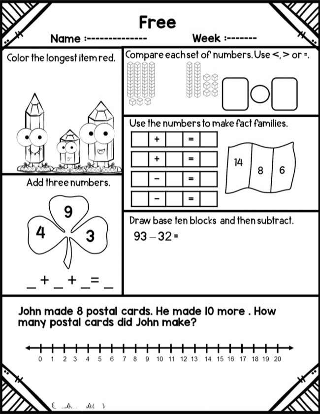 Coloring Book Free Worksheets For Grade English