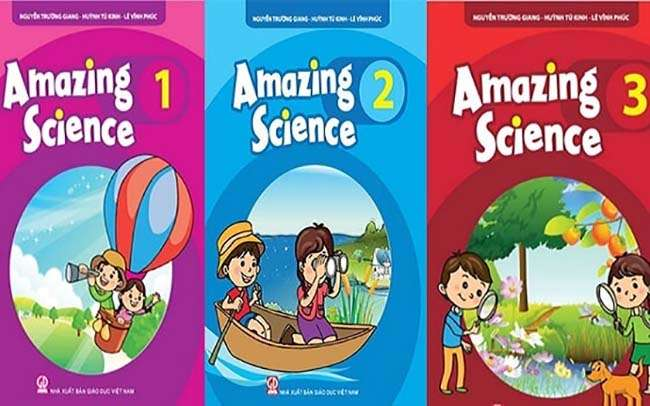 Cuốn Amazing Science 1,2,3