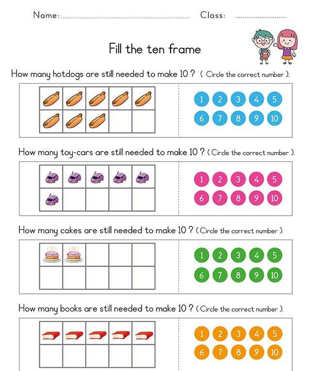 First Grade Math Worksheets PDF Free Printable 1st Grade Math