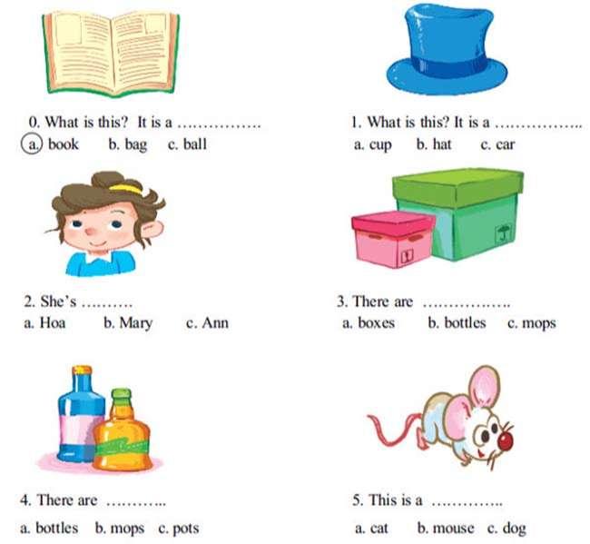 Khoanh vào câu trả lời đúng nhất a, b hoặc c