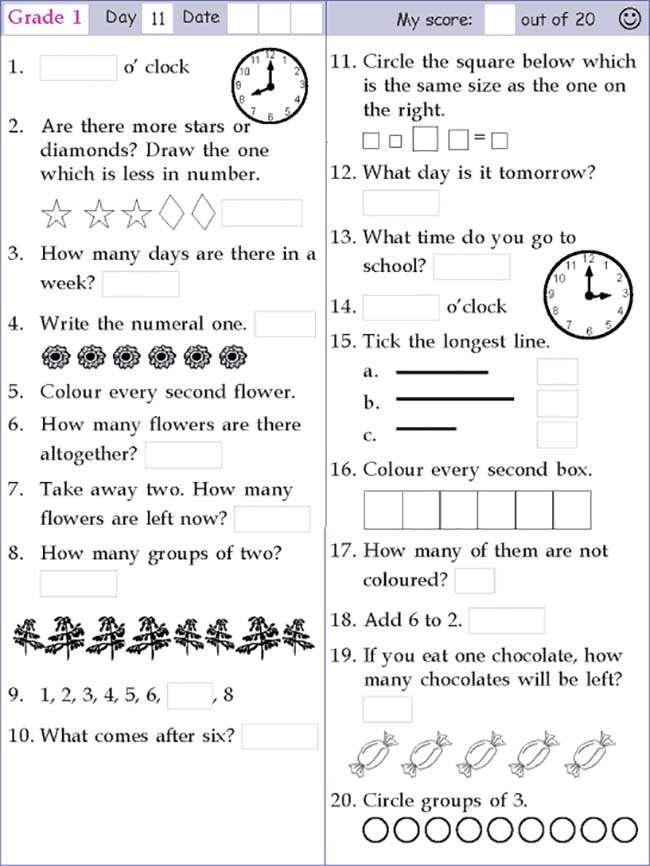 Math A Day Grade 2 Lessons Tes Teach