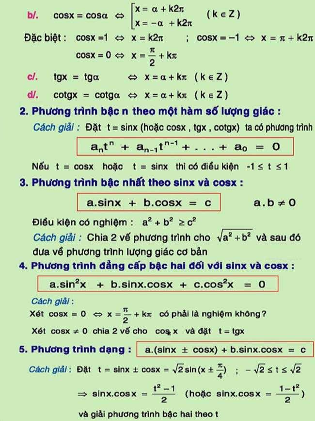 Phương trình lượng giác