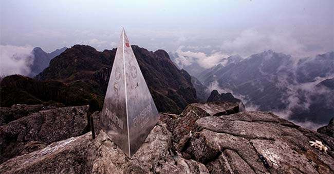 Phan Xi Păng là đỉnh núi cao nhất Việt Nam