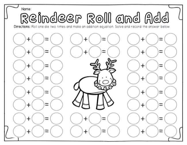 Ship Shape First Grade roll, add, color First grade math