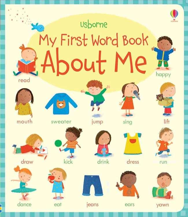Tài liệu tiếng Anh cho bé 3 tuổi My First Book About Me