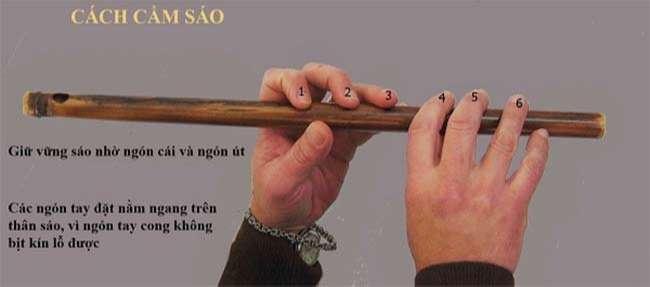 Tư thế cầm sáo