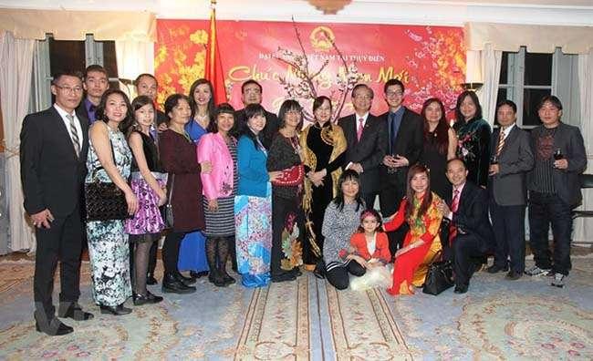 Đại sứ quán Việt Nam tại Thụy Điển đã tổ chức buổi gặp mặt đón chào Xuân