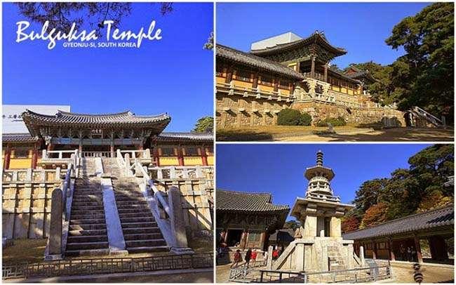 Đền Bulguksa ( 불국사 ) và Seokguram Grotto ( 석굴암 )