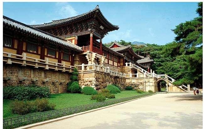 Chùa Bulguksa (불국사) và Seokguram Grotto (석굴암)