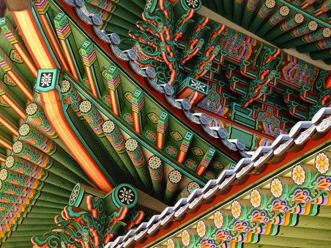 Dangcheong Hình trang trí trên các tòa nhà