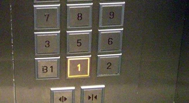 Nếu để ý bạn sẽ thấy trong thang máy tại Hàn Quốc sẽ không có tầng 4 mà thay vào đó là F hoặc A3